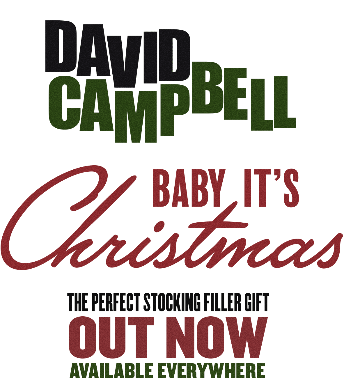 DAVID CAMPBELL - BABY IT\'S CHRISTMAS | PRE-ORDER NOW!